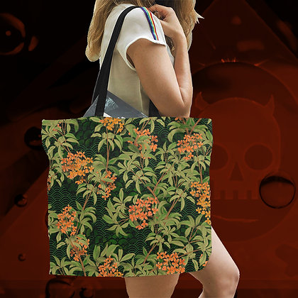 The Lowest of Low Kinmokusei 2020 All-Over Print large canvas tote bag beach school work shopping eco reusable sturdy