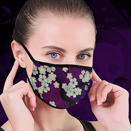 The Lowest of Low Sakura Breeze Face Mask protective face mask adult child infant (6 colours) Chill Violet