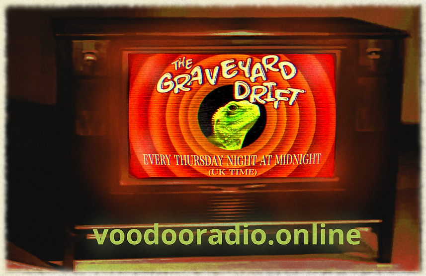 Graveyard Drift Looney Tunes Lizard Overlord 1950s TV Voodoo radio promo The Lowest of Low podcast