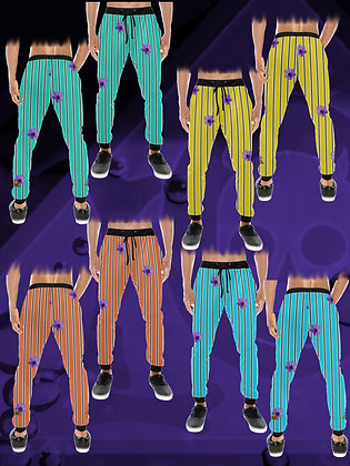 Anemone Zoot All-Over Print Streetwear / Sports / Sweatpants from The Lowest of Low