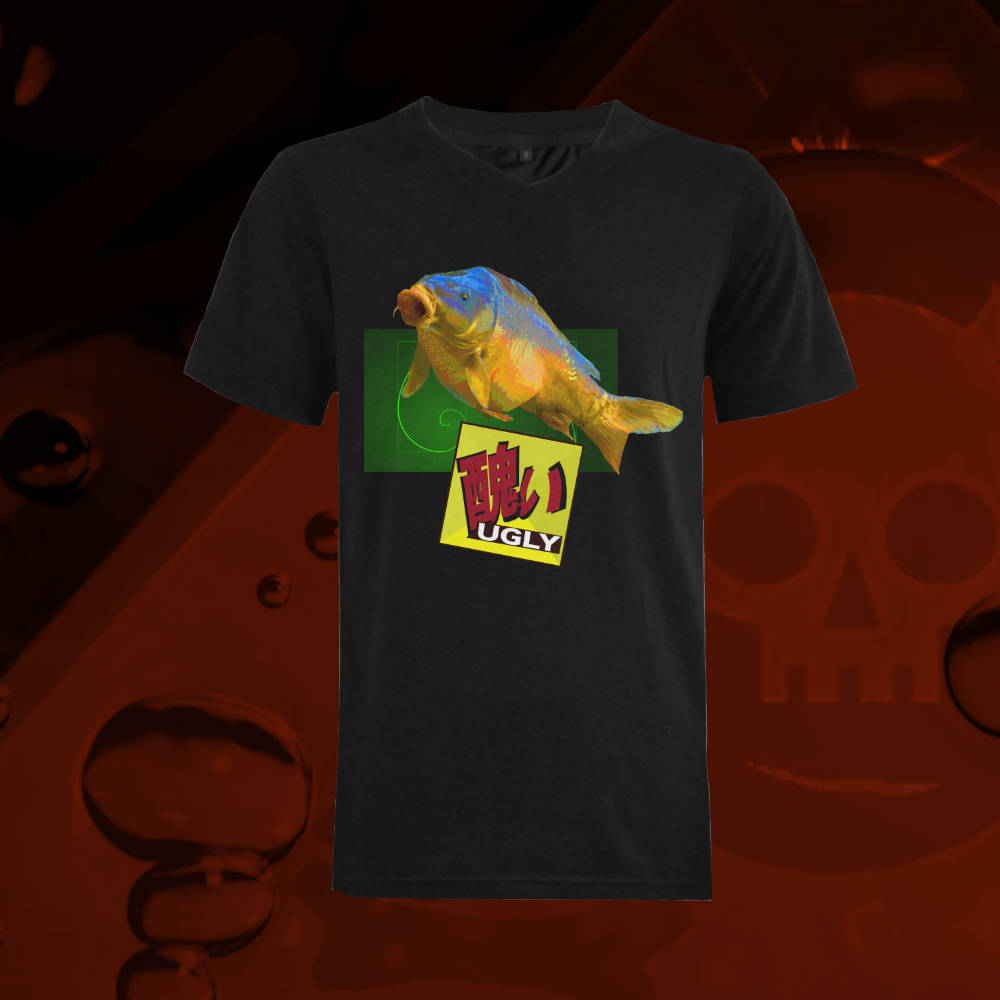 UGLY carp fish t-shirt The Lowest of Low