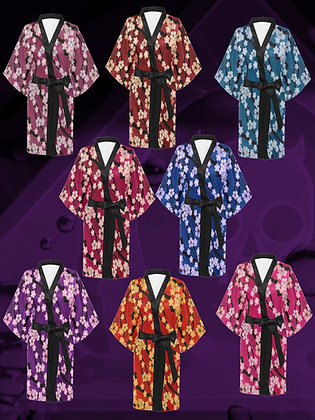 Sakura Breeze Kimono Robe Haori Jacket Dress from The Lowest of Low