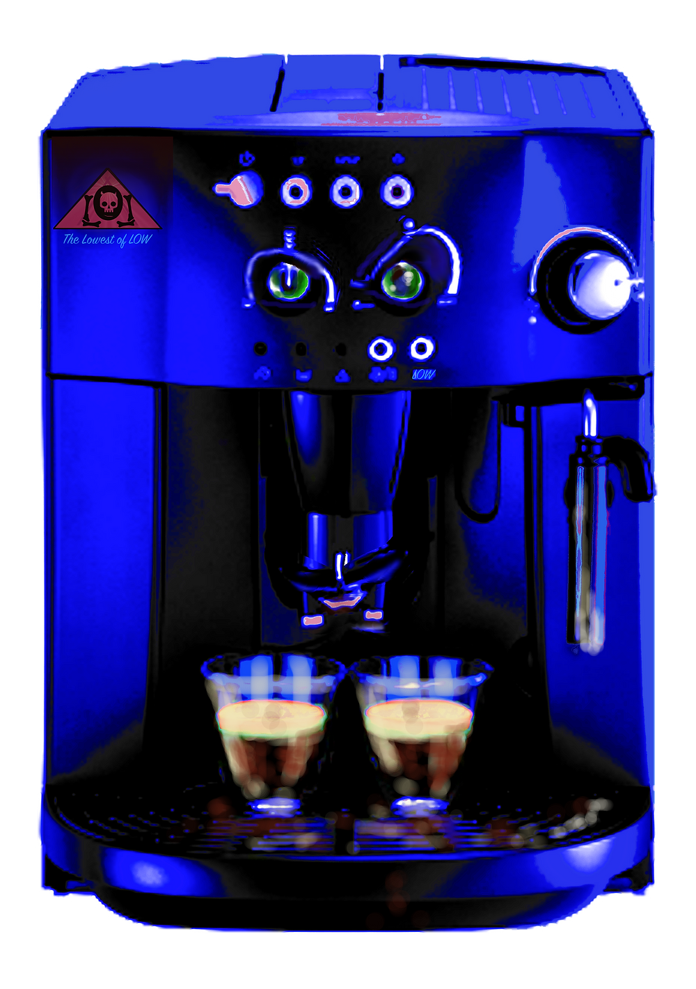 The Lowest of Low Coffee Machine
