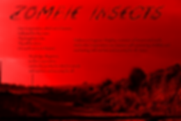 Zombie Insects Lyrics The Lowest of Low Mecha Robo Future WOW song sheet graphic art design red landscape futuristic dystopian story science fiction 2418