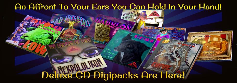 The Lowest of Low Deluxe CD Digipacks Di