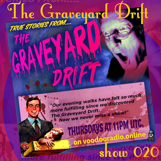 Graveyard Drift Radio Show Mixcloud 20 image Voodoo The Lowest of Low podcast