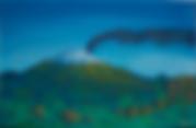 Mount Etna oil painting Sicily landscape art oils fine art