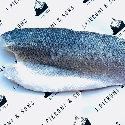 Large Sea Bass Fillets Packs of 2