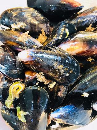 Fresh Mussels - 1Kg Bag