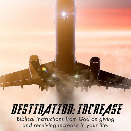 Destination Increase