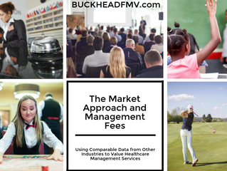 The Market Approach and Management Fees: Using Comparable Data from Other Industries to Value Health