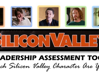 The Silicon Valley Leadership Assessment Tool:  Which Silicon Valley Character Are You?