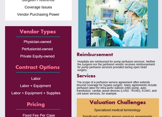 Consolidation Trends Impact Perfusion Services Appraisals