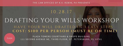 Drafting your Will workshop