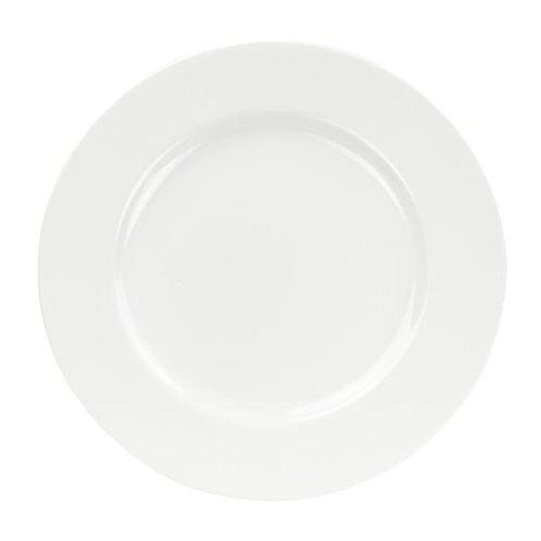 """Gracia-White Service Plate 12"""""""