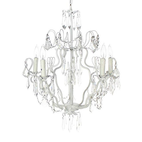 Chandelier w/ Crystals Small