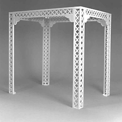 Chuppah-5'x 7'Lattice Canopy
