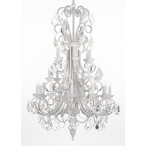 Chandelier w/Crystals
