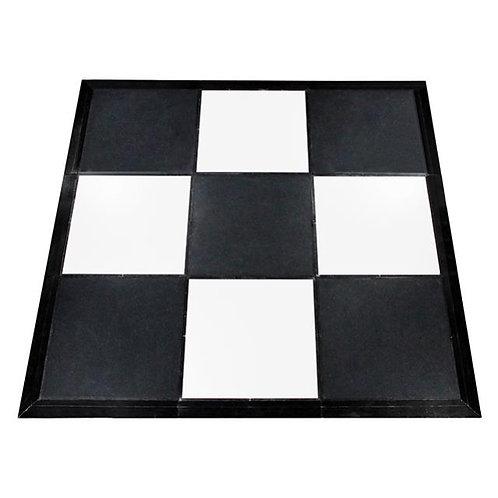 Black / White Checkered Dance Floor