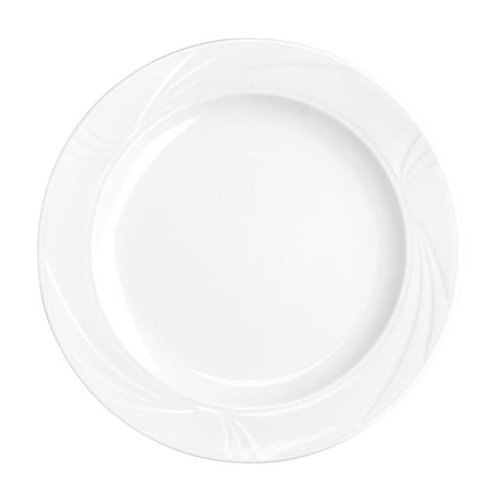 White Charger Plates