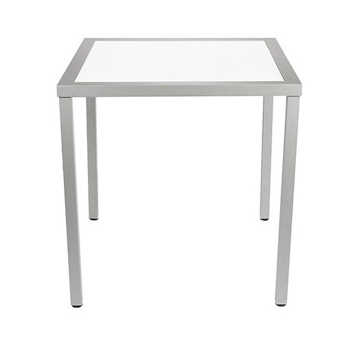 Table Aluminum w/Acrylic Top