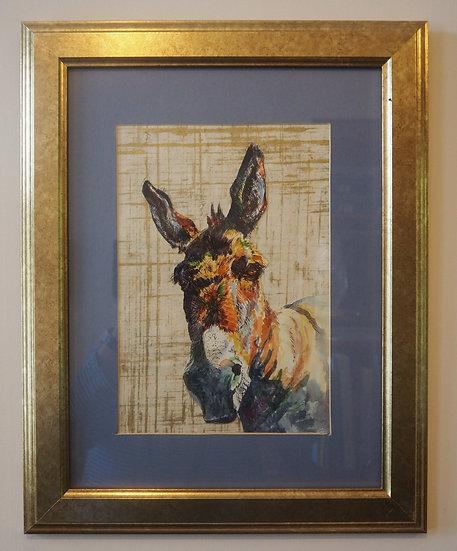 Watercolour/Pen Donkey (BCA99)
