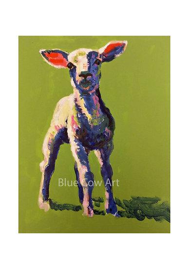 Lamb A4 Print BCA60