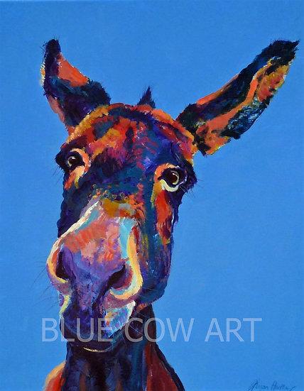 Donkey A4 Print - BCA2