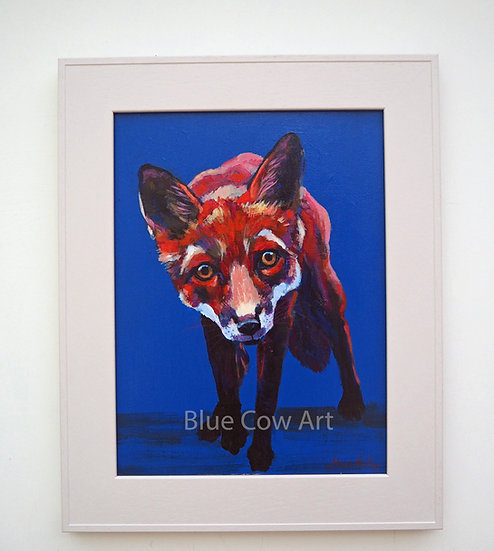 Curious Fox Framed - BCA67