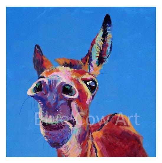 Cheeky Donkey Print - BCA8