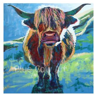 Cow at Dusk