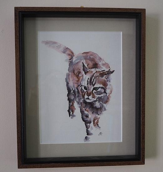 Watercolour Cat (BCA83)