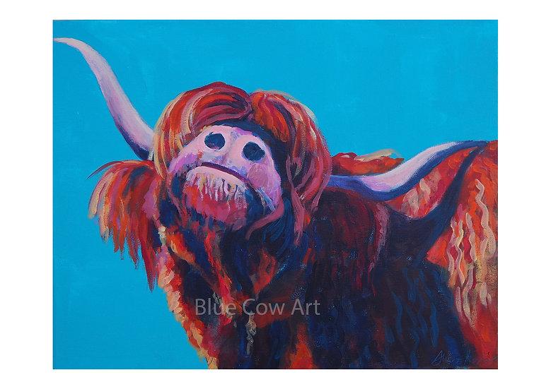 Highland Cow A4 Print - BCA47