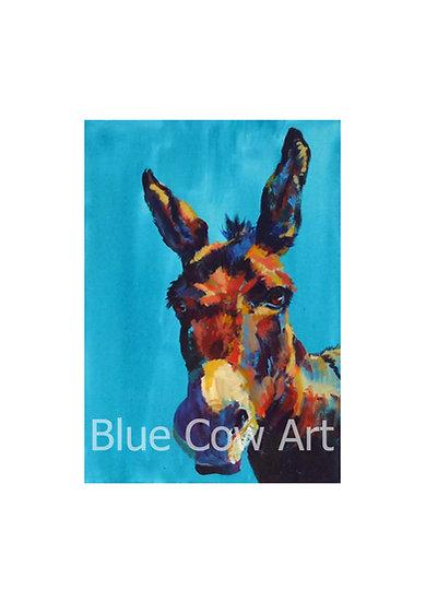 Donkey A4 Print - BCA17