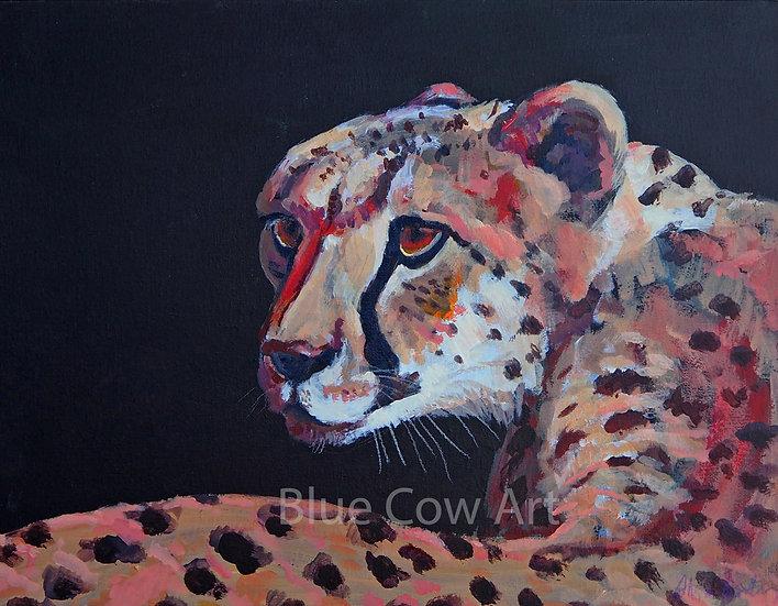 Cheetah  A4 Print BCA88
