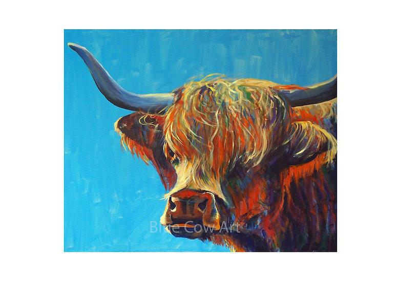 Highland Cow A4 Print BCA30