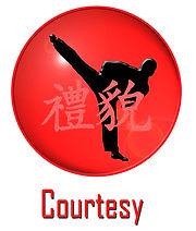 Courtesy at Taekwondo School of Excellence