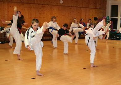 Physical Finess at Taekwondo School of Excellence