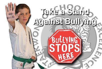 Anti-bulling t Taekwondo School of Excellence