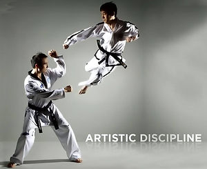 Training at Taekwondo School of Excellence