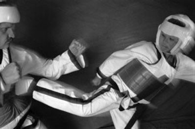 Combat at Taekwondo School of Excellence