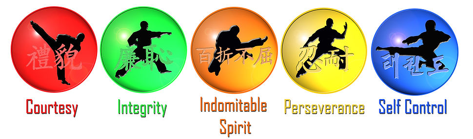 5 Tenets of Taekwondo at Taekwondo School of Excellence