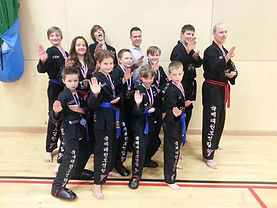 The Team at Taekwondo School of Excellence