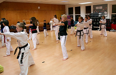 Discipline at Taekwondo School of Excellence