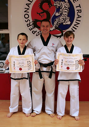 Phil Millington-Downing at Taekwondo School of Excellence