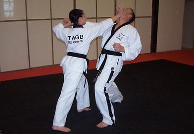 Self-defence at Taekwondo School of Excellence