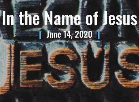 June 14, 2020 Worship Service