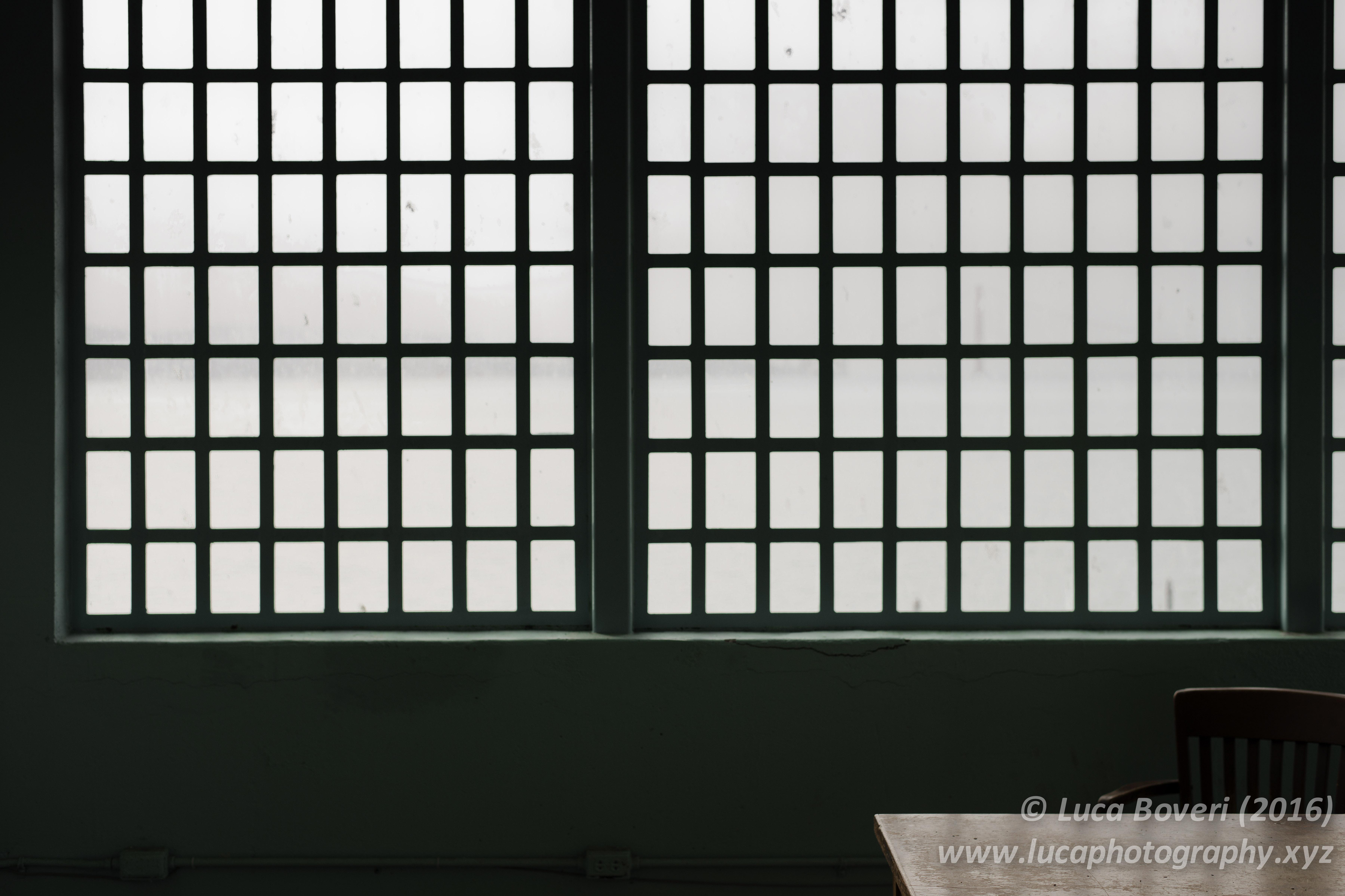 Alcatraz Prison desk. @lucaboveri