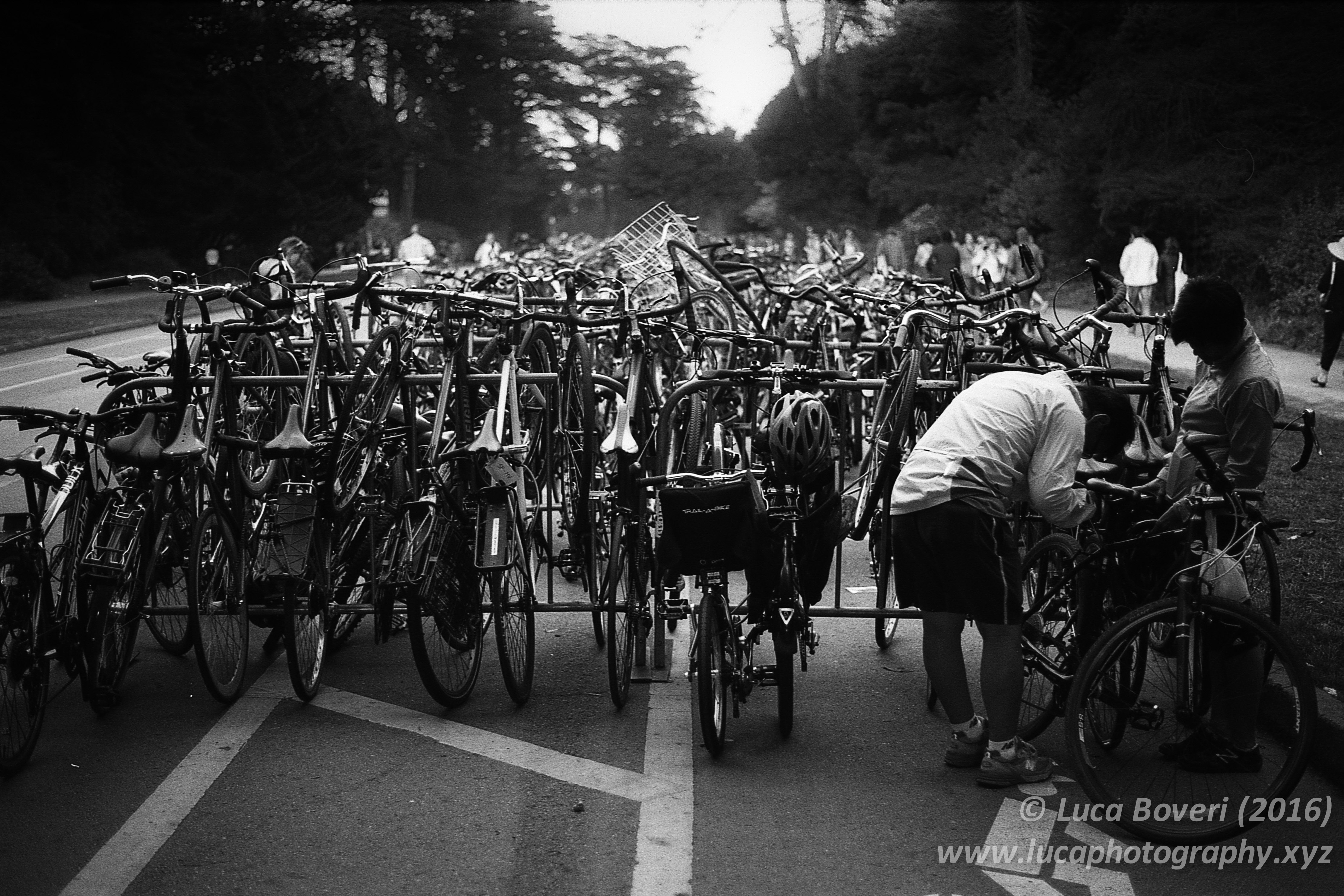 Bicycles in SF. @lucabove