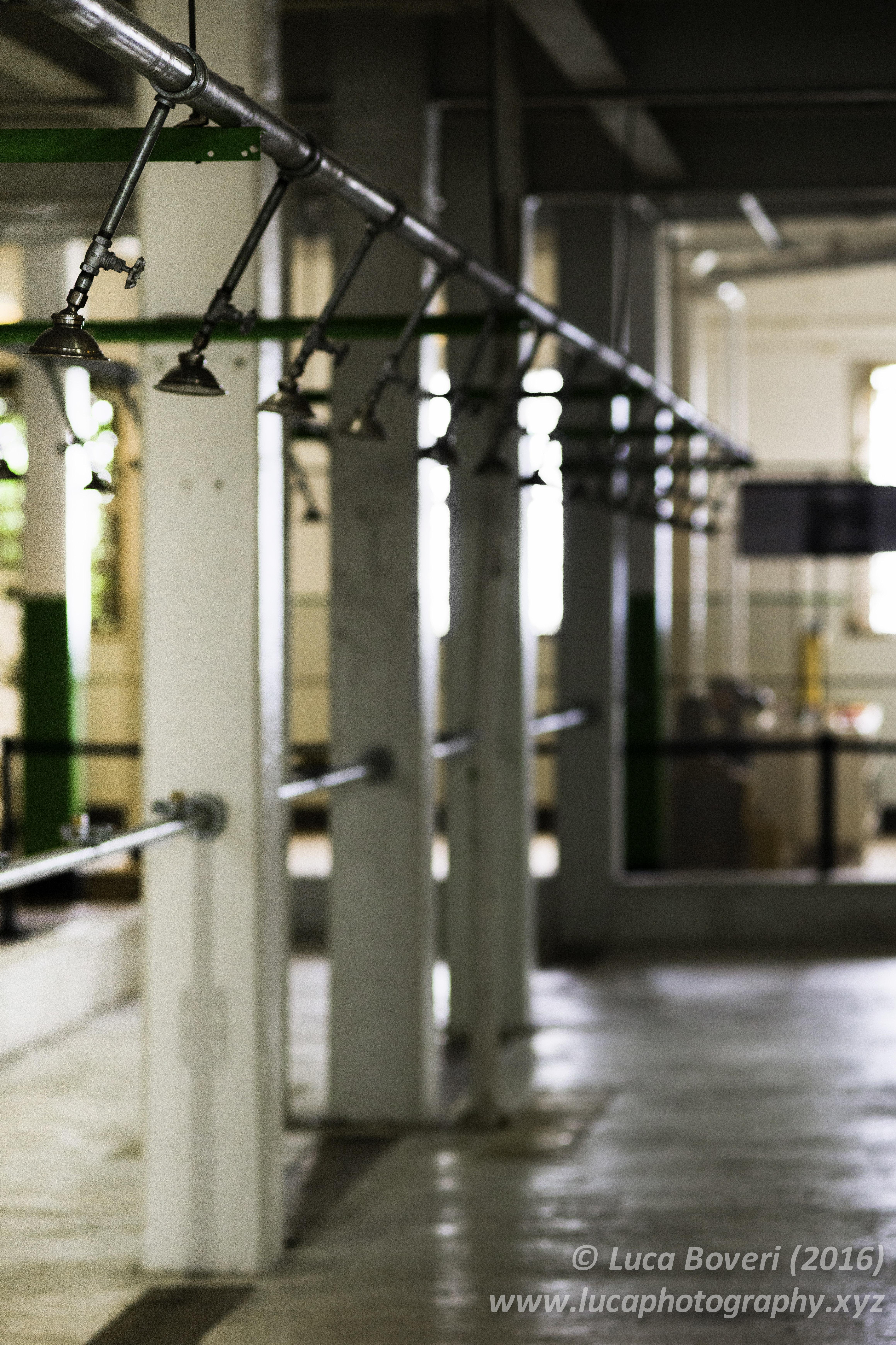 Alcatraz prison showers. @lucaboveri